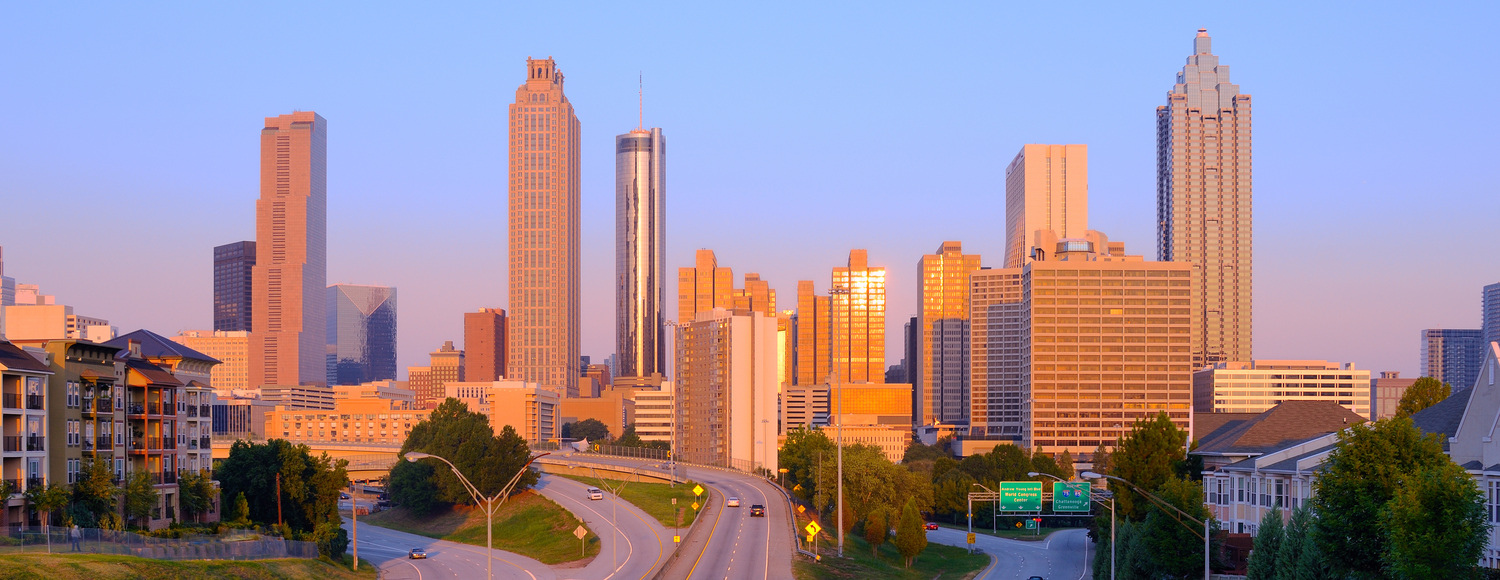 Atlanta Morning Panorama
